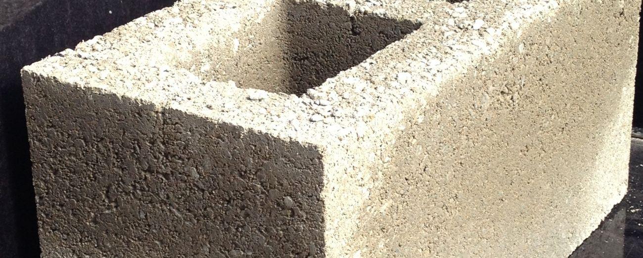 215mm Hollow Concrete Blocks - Banner