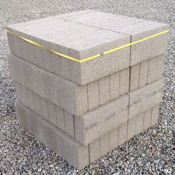 100mm Solid Concrete Block Pack