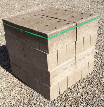 150mm Hollow Concrete Blocks 48 Pack