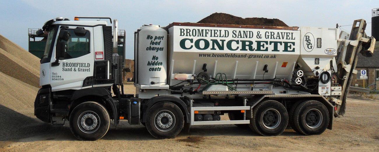 Volumetrics Concreting Lorry