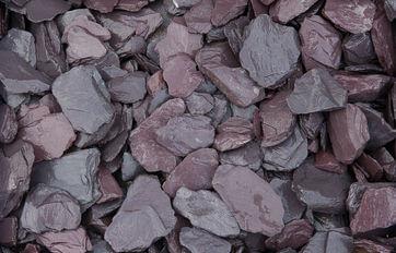 Plum Slate Gravel